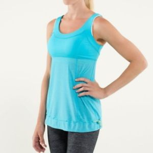Lululemon Tame Me Tank Workout Athletic Top